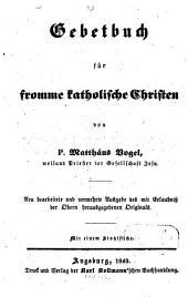 Gebetbuch für katholische Christen