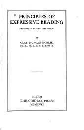 Principles of Expressive Reading: Impression Before Expression