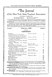 New York State Education: Volumes 9-10