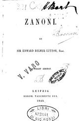 Zanoni by Edward Bulwer Lytton