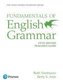 Fundamentals of English Grammar Teacher s Guide PDF