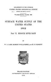 Geological Survey Water-supply Paper: Volumes 326-329