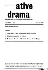 Creative Drama PDF