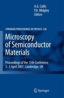 Microscopy of Semiconducting Materials 2007 PDF