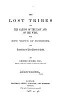 The lost tribes and the Saxons of the East and of the West  with views of Buddhism   c    PDF