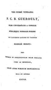 Opera: E codd. mss. biblioth. reg. Parisiensis. Continens tria opuscula de libertate, providentia et malo, Volume 1