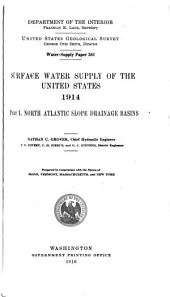 Geological Survey Water-supply Paper: Volumes 381-385