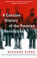 A Concise History of the Russian Revolution PDF