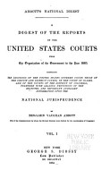 A Digest of the Reports of the United States Courts PDF