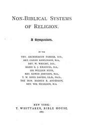 Non-Biblical Systems of Religion: A Symposium