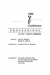 1988 World Food Conference Proceedings  Policy addresses PDF