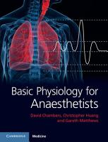 Basic Physiology for Anaesthetists PDF