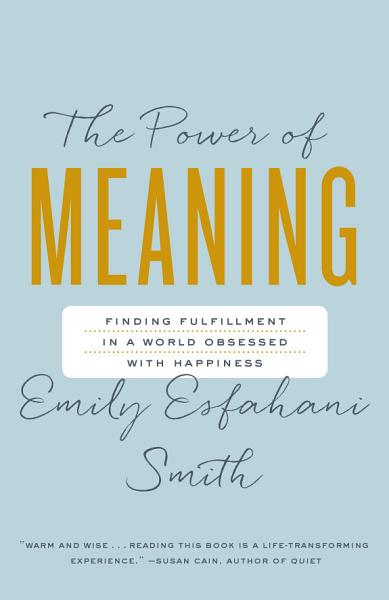 Download The Power of Meaning Book