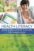 Health Literacy and Consumer Facing Technology PDF