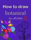 How to Draw Botanical Line Illustration 2 PDF