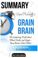 David Perlmutter S Grain Brain Summary Book PDF