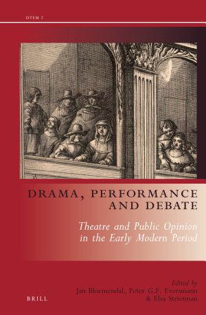 Drama, Performance and Debate