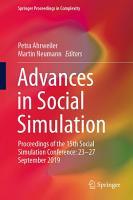 Advances in Social Simulation PDF