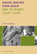Geist  Recht und Geld PDF