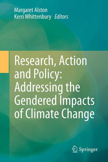 Research  Action and Policy  Addressing the Gendered Impacts of Climate Change PDF