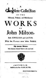 A Complete Collection Of The Historical  Political  And Miscellaneous Works