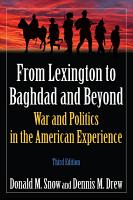 From Lexington to Baghdad and Beyond PDF