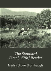 The Standard First [ -fifth] Reader: Book 3