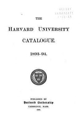 Catalogue   Harvard University PDF
