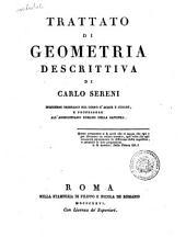 Trattato di geometria descrittiva di Carlo Sereni ingegnere ...