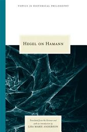 Hegel on Hamann