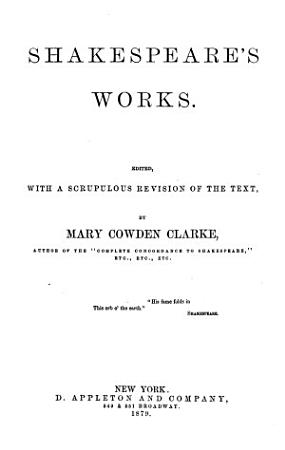 Shakespeare s Works PDF