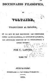 Diccionario filosofico: Volumen 7