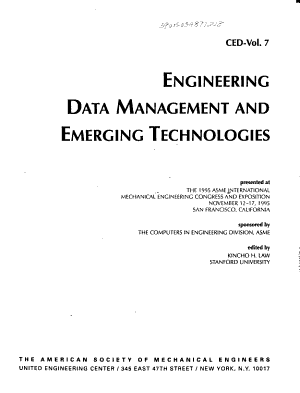Engineering Data Management and Emerging Technologies PDF