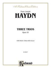 Three Trios, Opus 53: For Violin, Viola and Cello