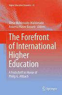 The Forefront of International Higher Education PDF