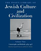 The Posen Library of Jewish Culture and Civilization  Volume 9 PDF