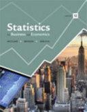 Statistics for Business and Economics PDF