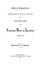 Annual Report of the Secretary of the Connecticut Board of Agriculture PDF