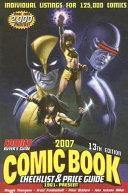 2007 Comic Book Checklist and Price Guide