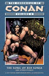 Chronicles of Conan Volume 4: The Song of Red Sonja and Other Stories