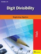 Digit Divisibility: Beginning Algebra