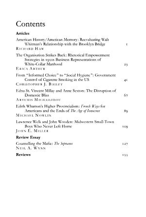 Journal of American Studies PDF