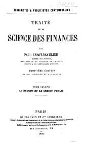 Traité de la science des finances: Volume2
