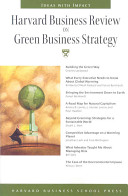 Harvard Business Review on Green Business Strategy PDF