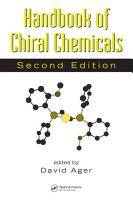 Handbook of Chiral Chemicals  Second Edition PDF