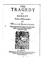 The Tragedy of Hamlet, Prince of Denmarke