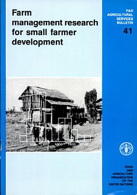 Farm Management Research for Small Farmer Development