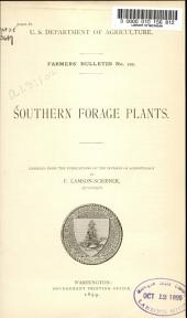 Southern Forage Plants