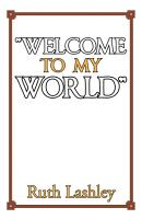 Welcome to My World    PDF