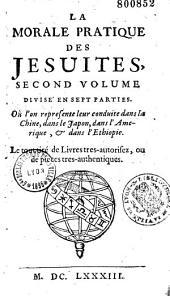 Morale pratique des Jésuites